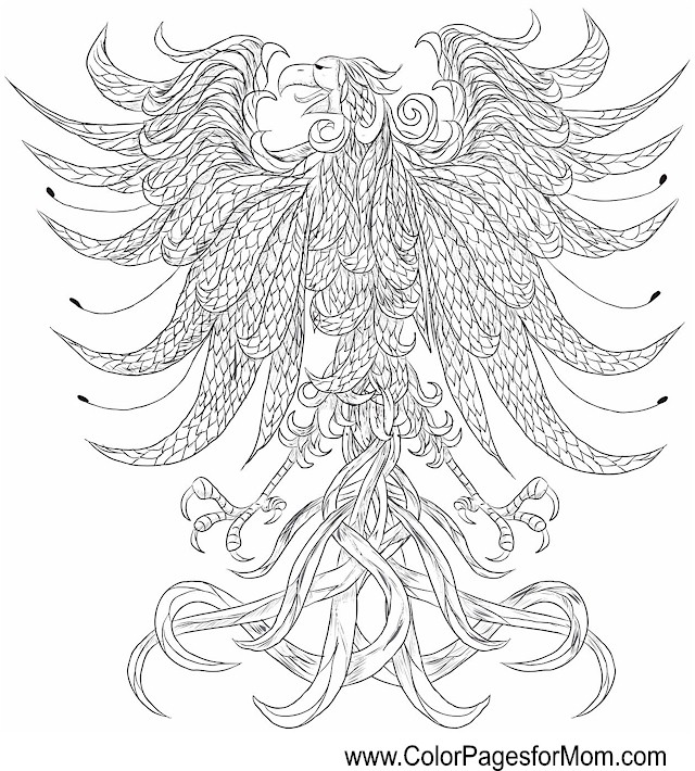 advanced coloring pages of animals photo15