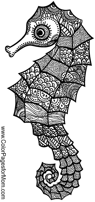 Animals 135 Advanced Coloring Pages