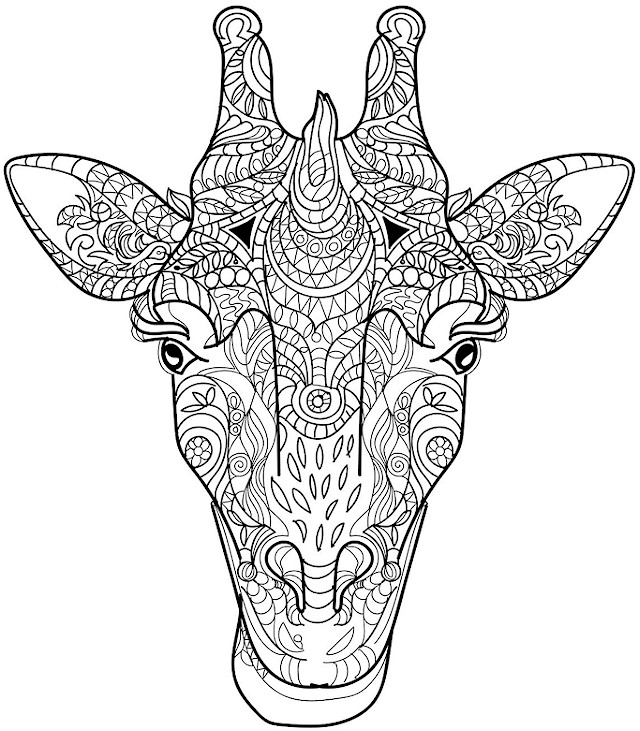 - Animals 22 Advanced Coloring Page