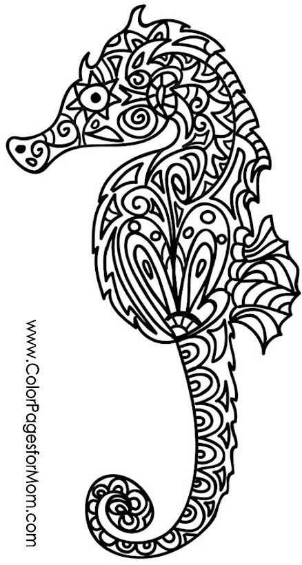 animals 33 advanced coloring page