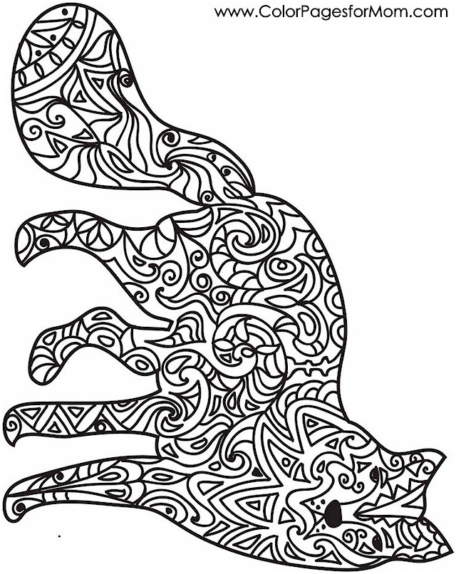 Stress Coloring Pages Animals : Animal coloring pages stress relief