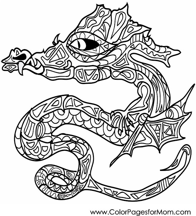 Animals 445 advanced coloring page for Advanced animal coloring pages