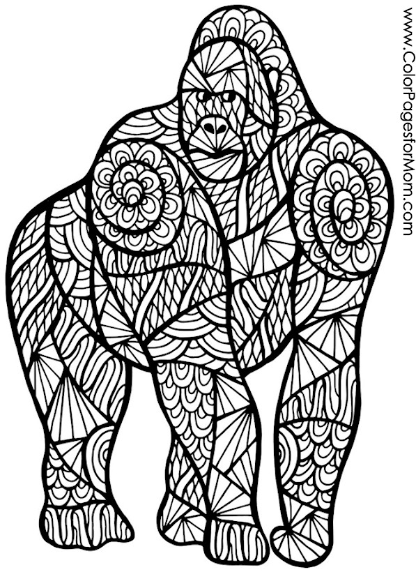 Animals 66 Advanced Coloring Page