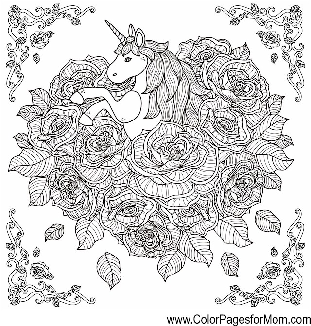 Coloring Pages For Advanced Colors : Animals advanced coloring pages