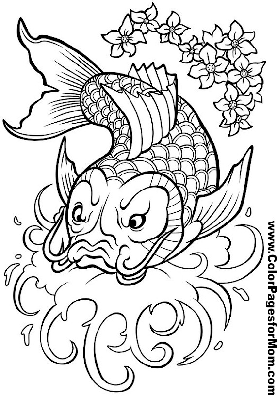 free asian coloring pages - photo#2