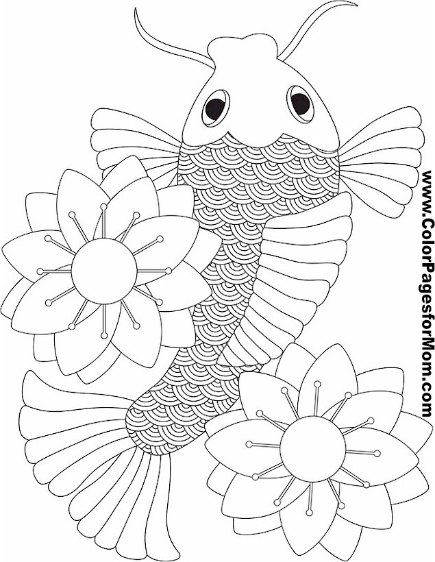 Asian Coloring Page 18