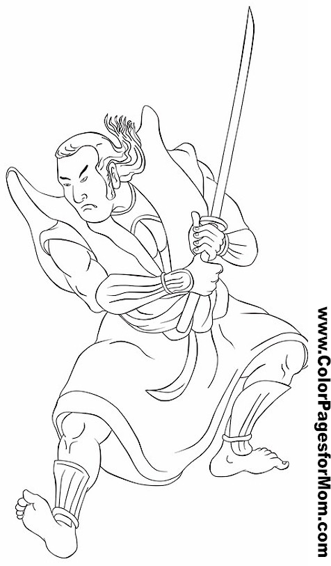 asian coloring page 21