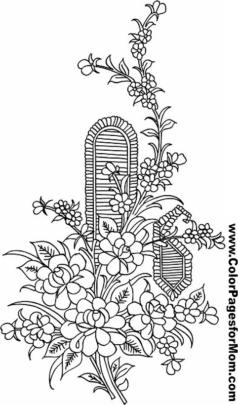 Asian Coloring Page 28