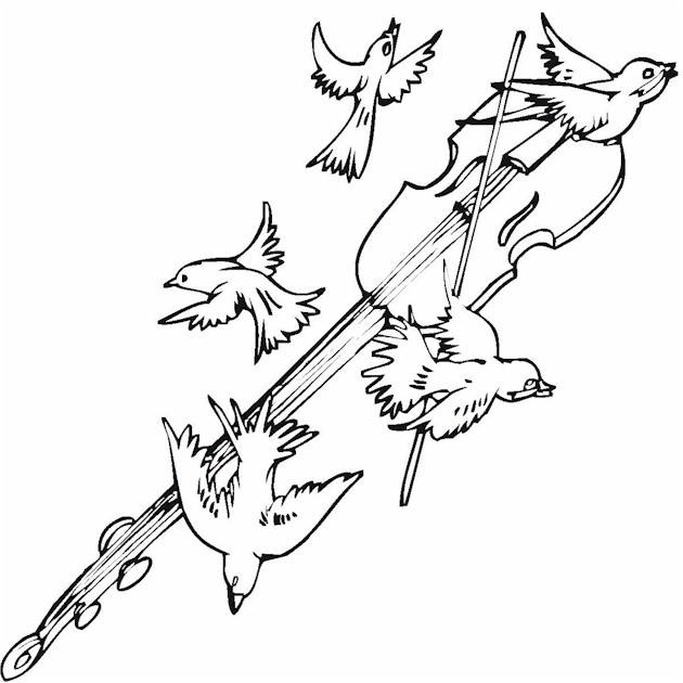 free coloring pages of free birds
