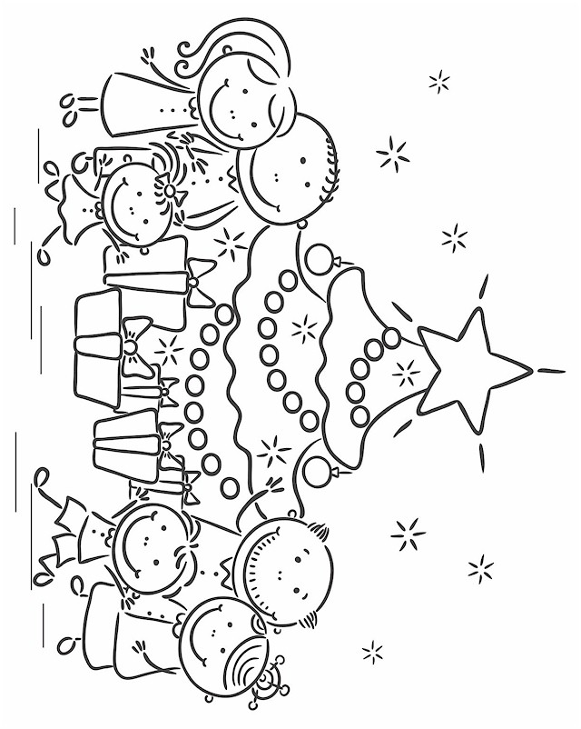 Christmas Coloring Pages - Christmas 46
