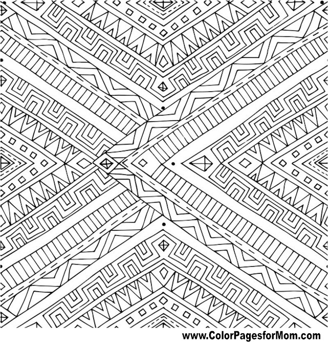 Doodles 101 Advanced Coloring Page