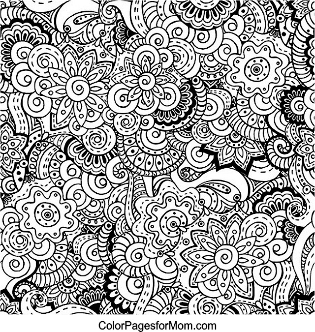 free coloring pages of adult advanced