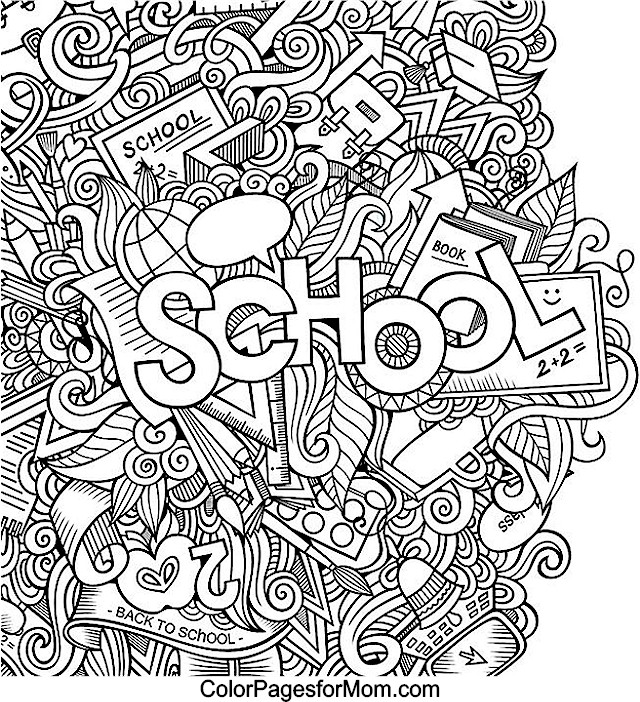 Doodles 42 advanced coloring pages Educational coloring books for adults