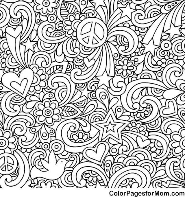 Doodles 79 Advanced Coloring Pages