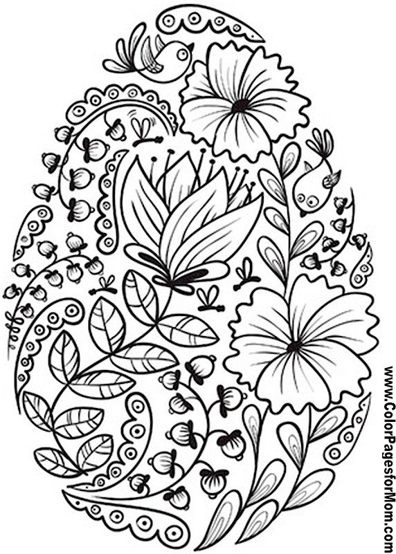 Coloring Pages on Pinterest Flower