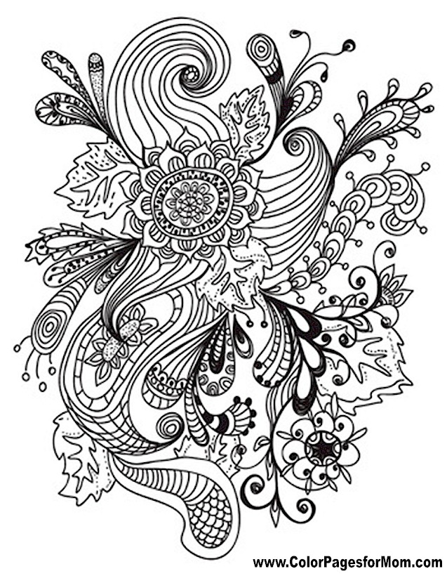 Free Flower Bookmarks Coloring Pages