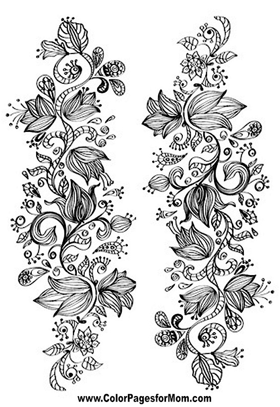 Flower Coloring Page 48