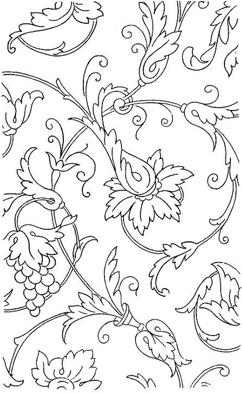 printable coloring pages of flowers for adults - flowers for adults free coloring pages