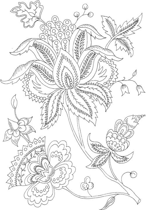detailed christmas tree coloring pages images