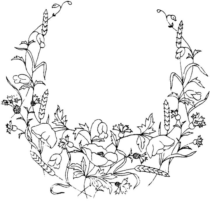 Flowers 3 Coloring Page Click To Print Image Only Without Ads