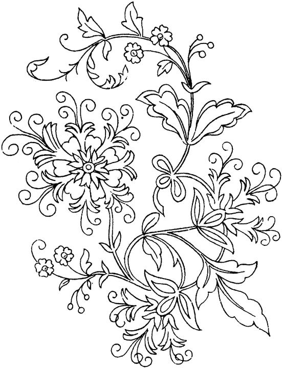 Floral letter k coloring pages for adults coloring pages for Flower adult coloring pages