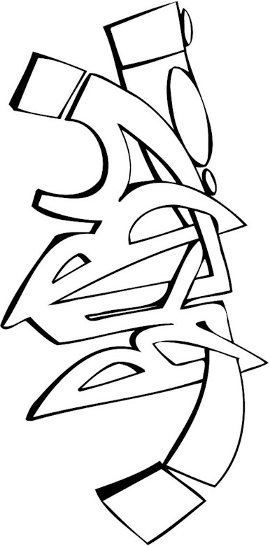 free funky coloring pages - photo#19