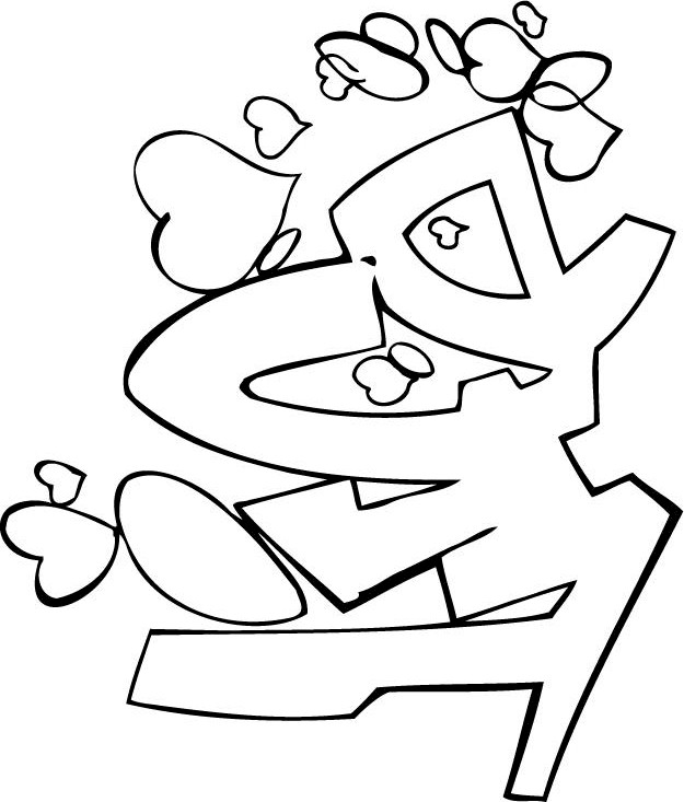 free funky coloring pages - photo#9