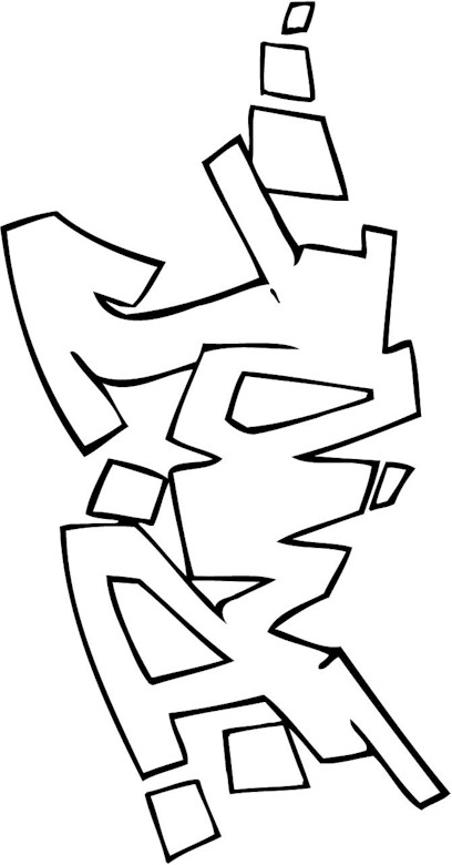 free funky coloring pages - photo#27