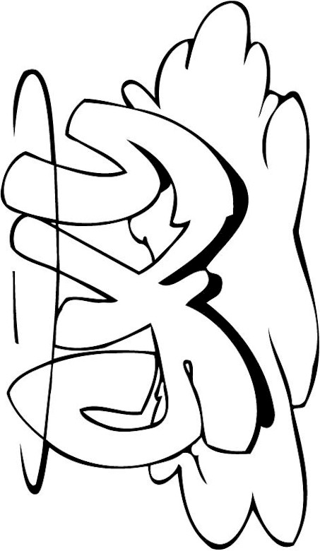 free funky coloring pages - photo#6