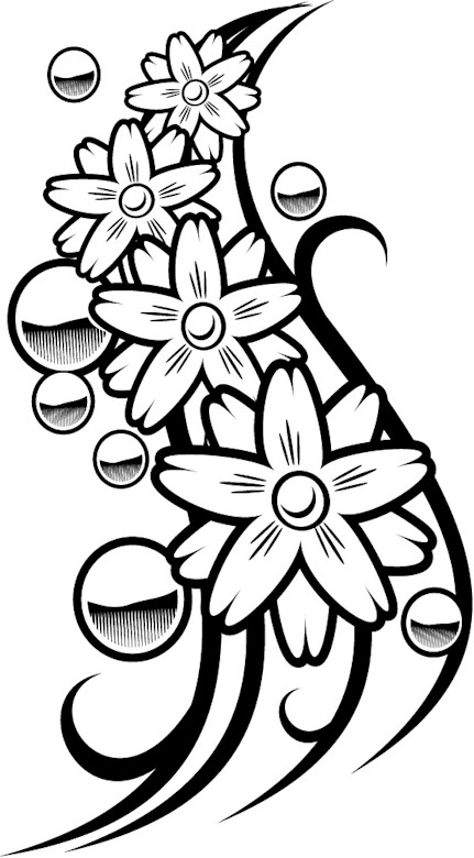 Punchy image regarding free printable tattoo coloring pages for adults