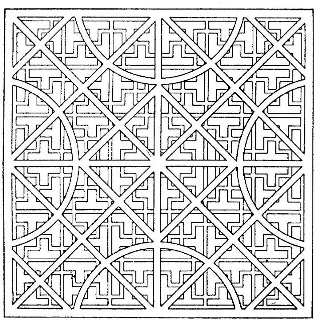 printable geomatric coloring pages - photo#26