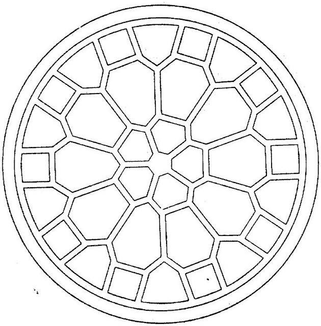 coloring pages geometric shapes - photo#27
