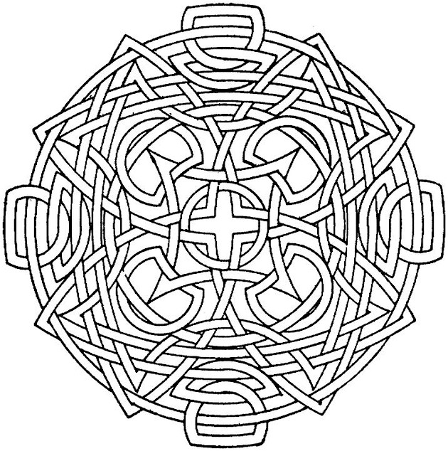 coloring pages for adults geometric - photo#23