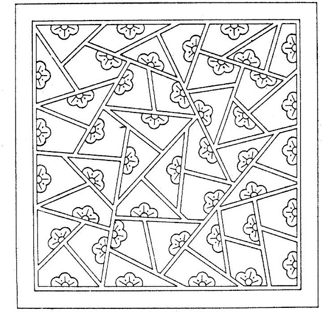 Geometric shapes coloring page for Geometric shapes coloring pages