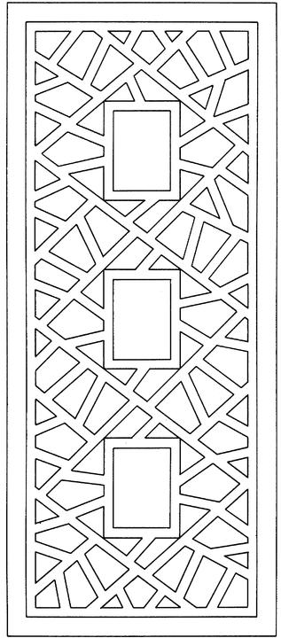 Free printable adult coloring pages geometric coloring pages for Geometric shapes coloring pages