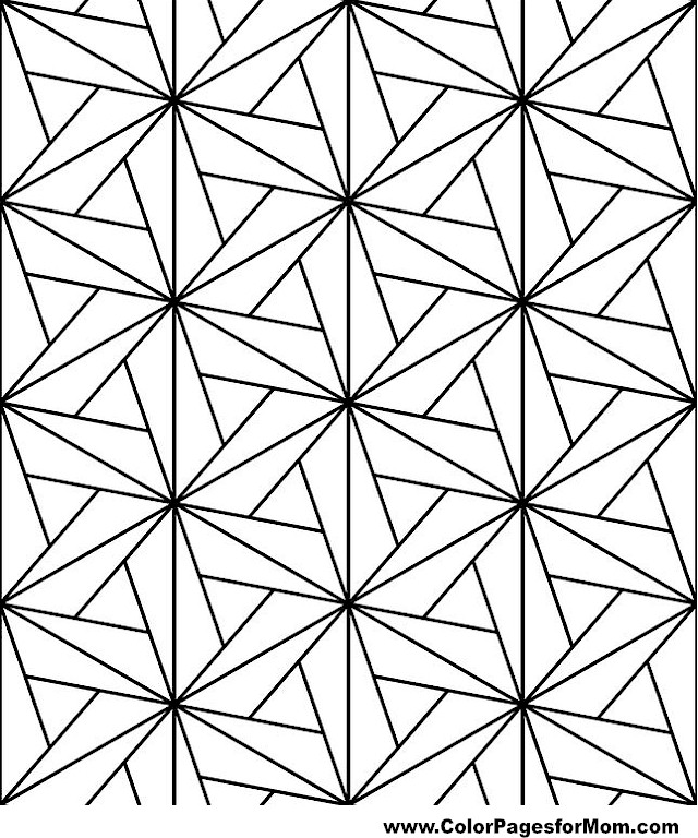 Geometric shapes coloring page 73 for Geometric shape coloring pages