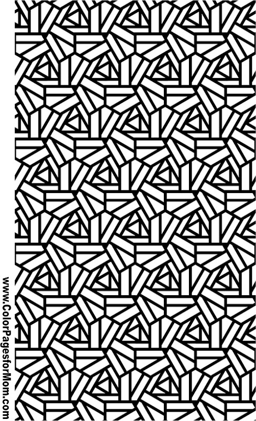 Geometric shapes coloring page 94 for Geometric shapes coloring pages