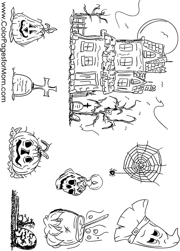 free collage coloring pages - photo#29