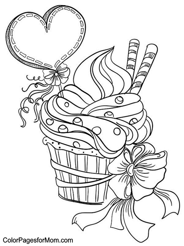 Hearts 7 Advanced Coloring Pages