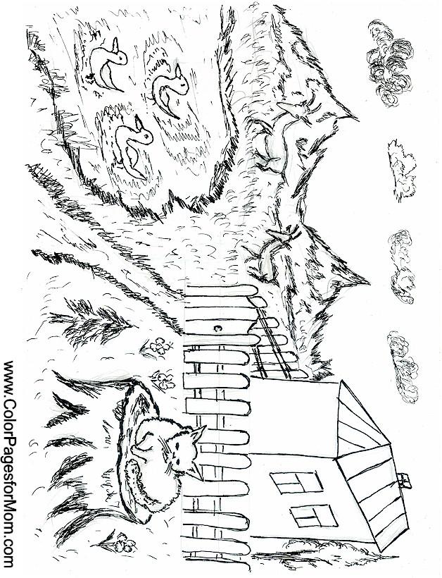 Landscape coloring page 31 Landscape coloring books for adults