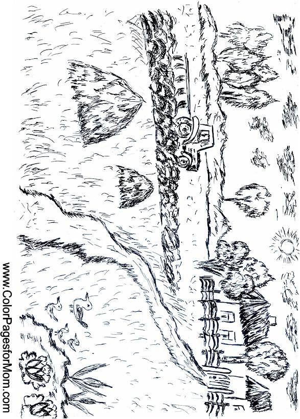 Landscape Coloring Page 34