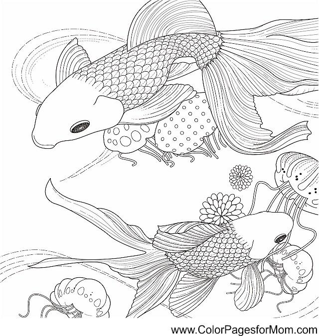 ocean seascape coloring pages - photo #16