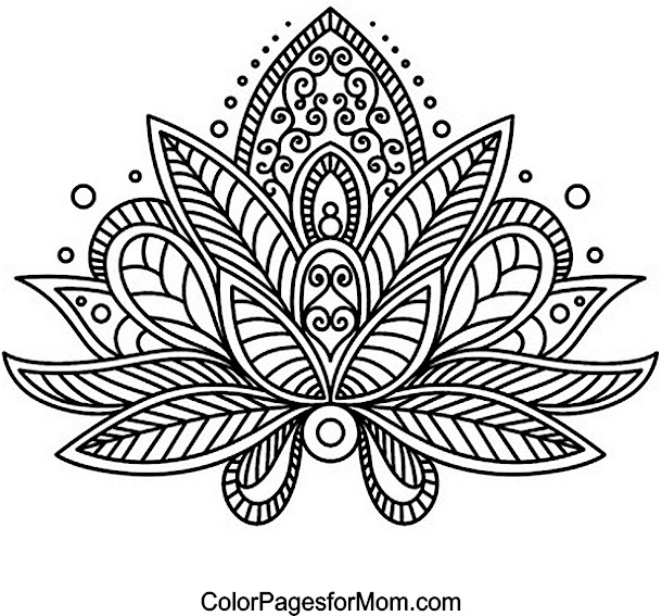 paisley coloring pages peace - photo#25