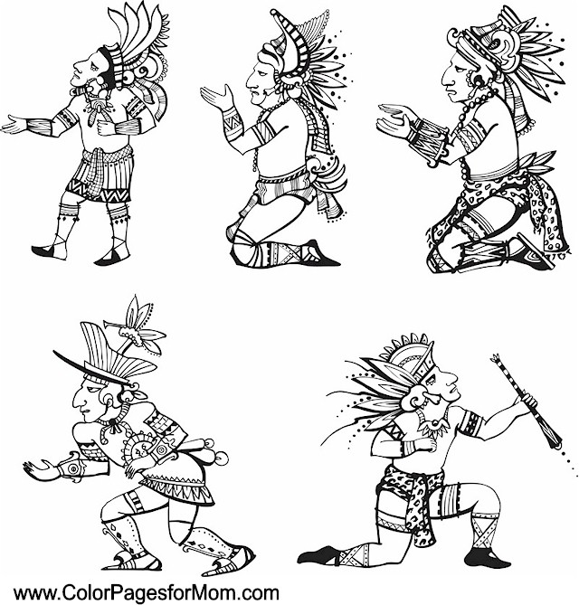 southwestern coloring pages