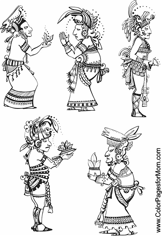 Southwestern Amp Native American Coloring Page 36