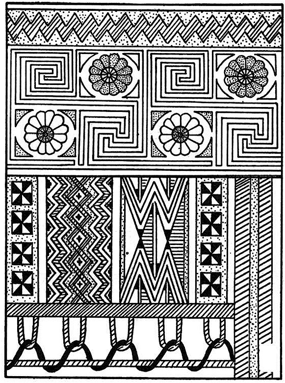 Southwestern native american coloring page for Native american printable coloring pages