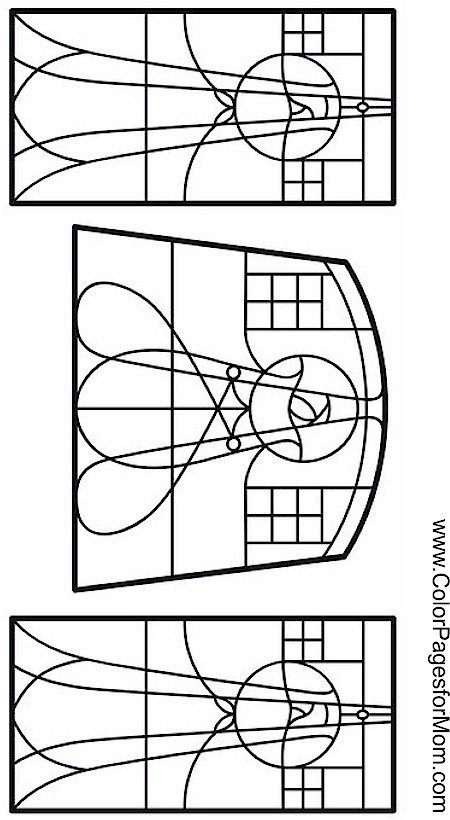 Coloring pages for adults stained glass coloring page 1 for Stained glass coloring pages for kids