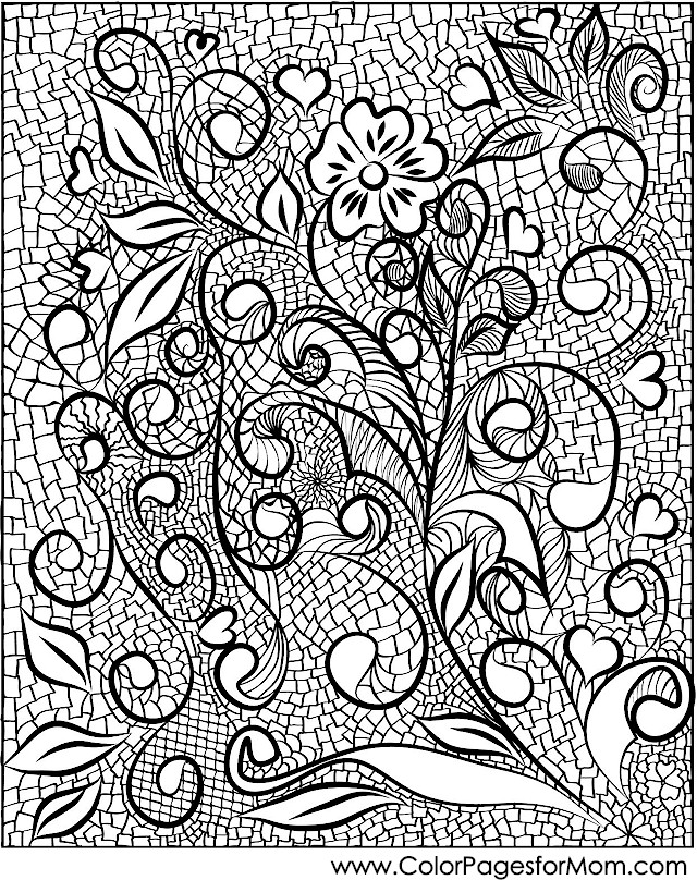 Coloring pages for adults stained glass coloring page 21 for Stained glass coloring pages for adults