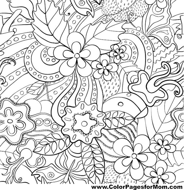 leaves coloring page 49