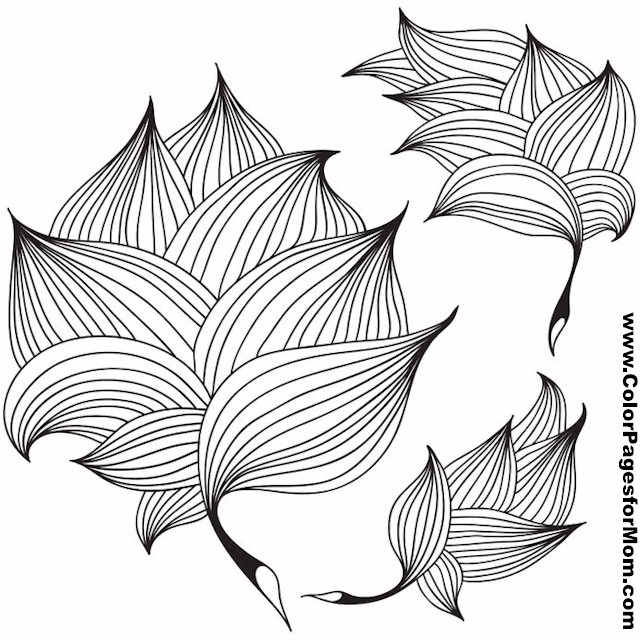 leaf coloring pages for adults - photo#37